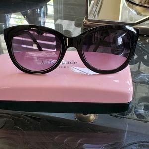 Lucky brand black round cateye sunglasses